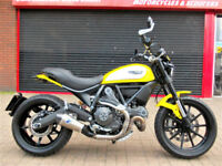 DUCATI SCRAMBLER ICON ABS 803 2015 LOW MILES EXTRAS HPI WARRANTY FINANCE