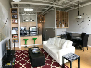 Furnished Penthouse Level DT Halifax Condo