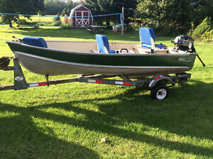 12 ft Lund with 7.5h Mercury