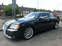 2013 Chrysler 300C 3.0TD ( 236bhp ) Auto Limited 4DR 13 REG Diesel Black