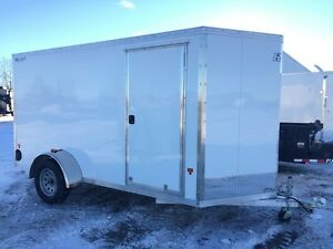 2016 Mission Trailers 6x12+V-Nose Lite Cargo