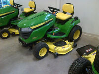 New John Deere X300 Select-Series Riding Lawn Mower with 18.5 h