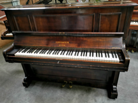 1892 Victorian Bechstein Upright Piano - CAN DELIVER