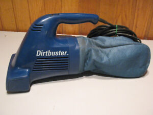 Shark and Black and Decker Hand Held Vacuums