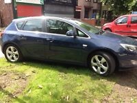 2011 Vauxhall Astra 1.7 Cdti Sri 5 Door Blue 100k Bargain £30 a year Tax full mot