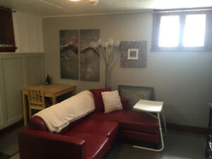Private suite Caswell 1 bedroom furnished quiet, security system