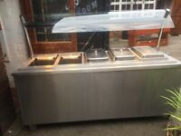 Free standing electric carvery unit