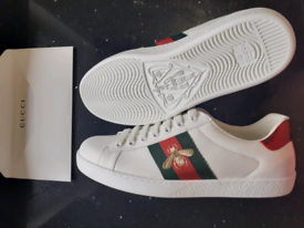 Gucci bee size 8 trainers