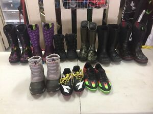 Bogs and Soccer Cleats