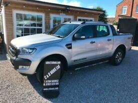 2017 67 Ford Ranger Wildtrak 3.2 TDCi 200 4x4 4wd Automatic Pick Up Double Cab.
