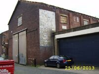 Large commercial unit (workshop/Warehouse), over 30,000 sq ft. Available NOW. Very cheap rent!