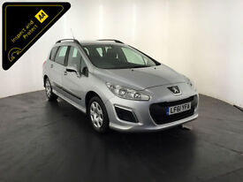 2011 61 PEUGEOT 308 ACCESS SW E-HDI ESTATE 1 OWNER PEUGEOT HISTORY FINANCE PX