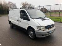 2004 Mercedes-Benz Vito 2.2TD 110CDi COMPLETE WITH M.O.T AND WARRANTY