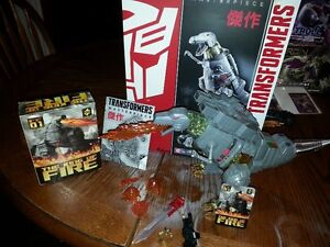 Hasbro MP08 Masterpiece Grimlock with add-ons