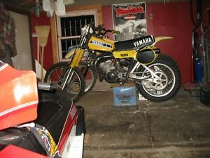 Wanted: 1977,1978,1979 YZ 125 parts/parts bikes