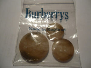 new Burberry buttons
