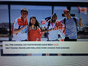 Looking to buy a via rail youth pass, for month of July