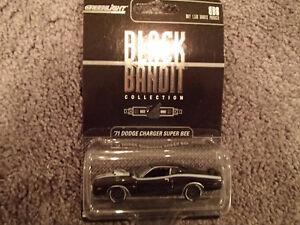 GREENLIGHT Black Bandit BB8 1971 DODGE CHARGER SUPER BEE Ho