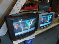 two T.V.s