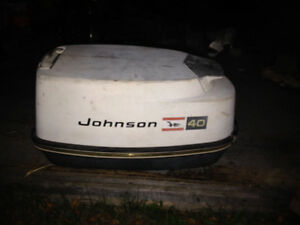 70's johnson 40hp outboard motor
