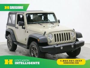 2017 Jeep Wrangler Sport COUPE CONVERTIBLE MANUELLE BLUETOOTH
