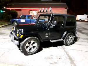 2004 Jeep Tj Wrangler Sahara Trail Rated Edition •     •