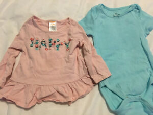 Girls 6-12 month summer clothing lot