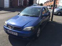 Vauxhall Astra sxi 1.6 petrol