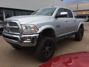 2014 Ram 3500 4X4 LIFTED  LIFTED .  NO CREDIT REFUSED 100%