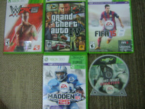 XBOX Games Package of 5 games