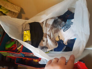 6 to 12 month boys clothing lot