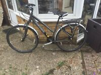 ** SOLD SUBJECT TO COLLECTION ** Carrera Crospath woman's hybrid bike (2015)