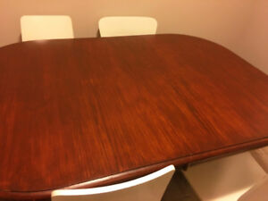 Kitchen Table in Antique Walnut Finish