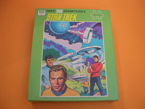 (3) STAR TREK GUILD PUZZLES (ALL COMPLETE) (ONE SEALED) London Ontario image 3