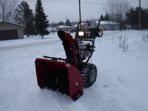 Craftsman snowblower with Power Steering