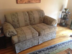 Matching Loveseat and Chair and futon