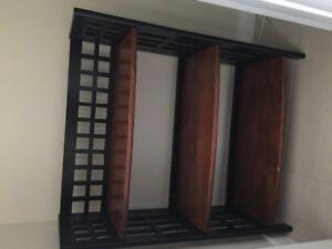 Bookcase and fold shelves