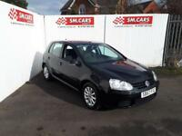 2007 57 VOLKSWAGEN GOLF 1.9TDI MATCH AUTOMATIC DSG 105PS 5 DOOR.12 MONTHS MOT.