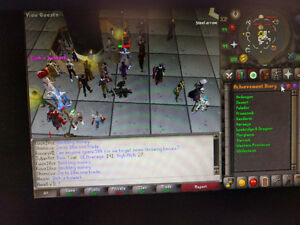 Selling MAXED Old School Account