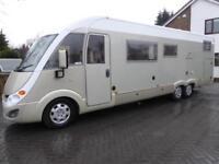 Burstner Elegance i821 rear garage A class motorhome for sale ref 13069