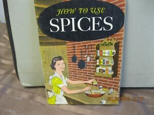 HOW  TO  USE  SPICES    YEAR    1958 Oakville / Halton Region Toronto (GTA) image 1