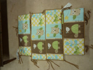 Reversible Crib Bedding