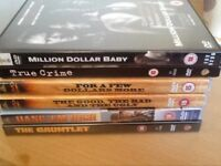 6 Clint Eastwood films