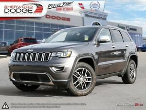 2017 Jeep Grand Cherokee Limited  HEATED 1ST/2ND ROW LEATHER | S