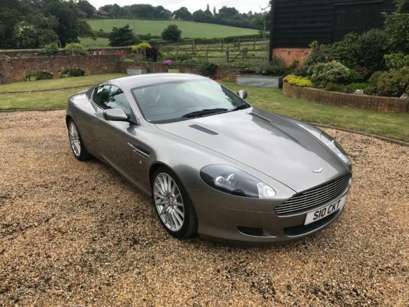 Aston Martin DB V Dr Touchtronic Auto Door Coupe In - 2005 aston martin db9