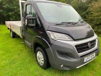 Fiat Ducato 35 3.5t. Euro 6 148bhp **Extra Long 20ft** Dropside Air Con., Cruise