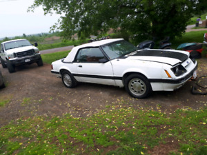 Looking to trade RUST FREE 86 MUSTANG V8 CONVERTIBLE