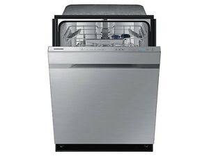 """Samsung 24"""" 44 dB Tall Tub Built-In Dishwasher w/ Stainless Stee"""