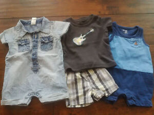 0-3 month old summer outfits Kitchener / Waterloo Kitchener Area image 1