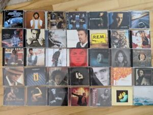 Gros lot CD musique anglophone/populaire
